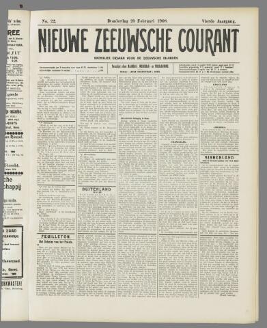 Nieuwe Zeeuwsche Courant 1908-02-20