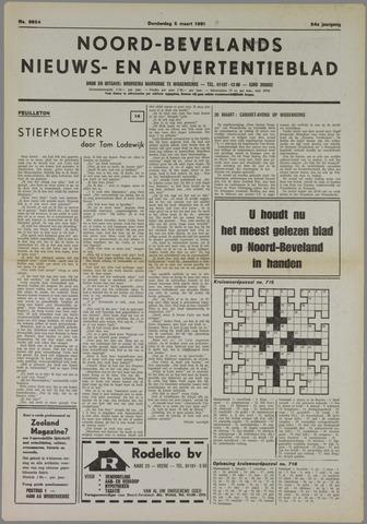 Noord-Bevelands Nieuws- en advertentieblad 1981-03-05