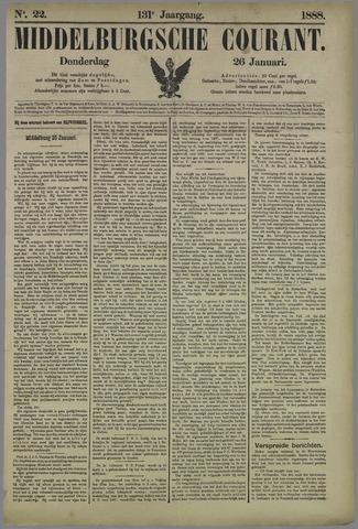 Middelburgsche Courant 1888-01-26