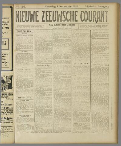 Nieuwe Zeeuwsche Courant 1919-11-01