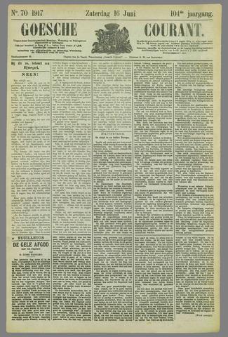 Goessche Courant 1917-06-16
