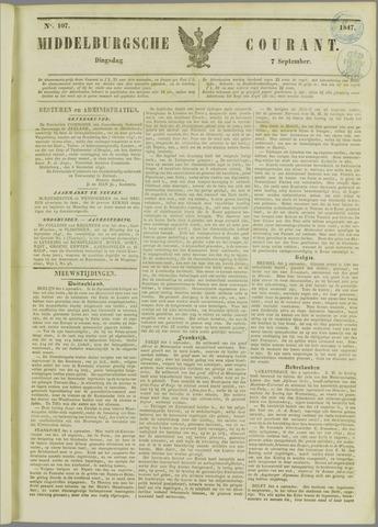 Middelburgsche Courant 1847-09-07