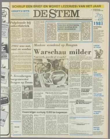de Stem 1981-12-31