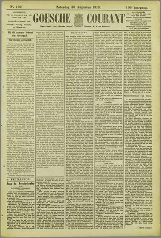 Goessche Courant 1919-08-30