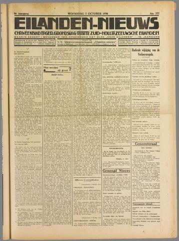 Eilanden-nieuws. Christelijk streekblad op gereformeerde grondslag 1936-10-07