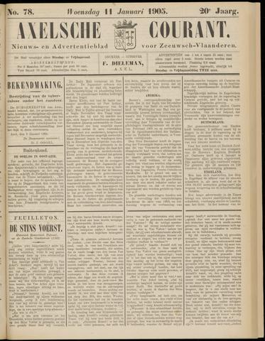 Axelsche Courant 1905-01-11