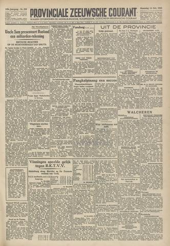 Provinciale Zeeuwse Courant 1946-10-14