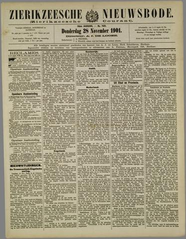 Zierikzeesche Nieuwsbode 1901-11-28