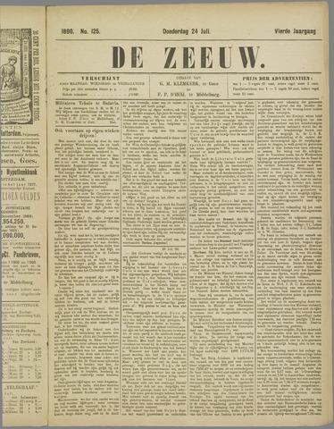 De Zeeuw. Christelijk-historisch nieuwsblad voor Zeeland 1890-07-24