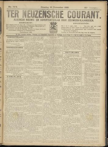 Ter Neuzensche Courant. Algemeen Nieuws- en Advertentieblad voor Zeeuwsch-Vlaanderen / Neuzensche Courant ... (idem) / (Algemeen) nieuws en advertentieblad voor Zeeuwsch-Vlaanderen 1920-11-30