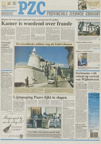 Provinciale Zeeuwse Courant 1999-06-01