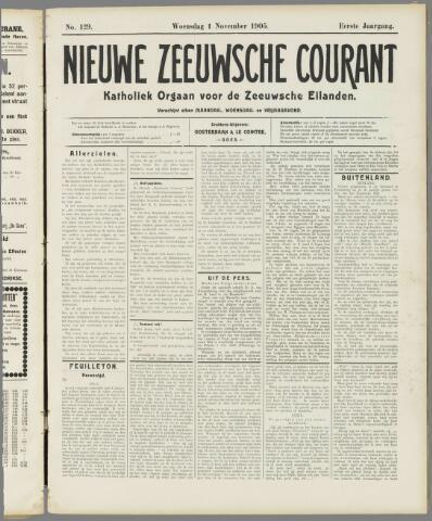 Nieuwe Zeeuwsche Courant 1905-11-01