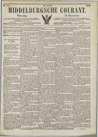 Middelburgsche Courant 1899-12-25
