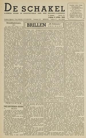 De Schakel 1949-04-08
