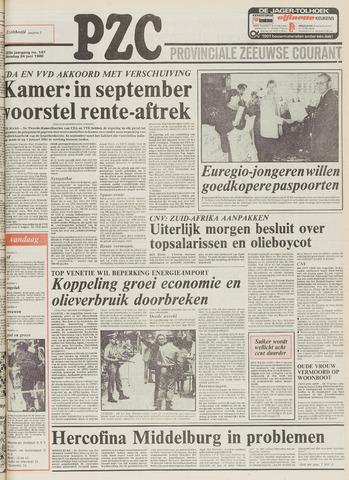 Provinciale Zeeuwse Courant 1980-06-24