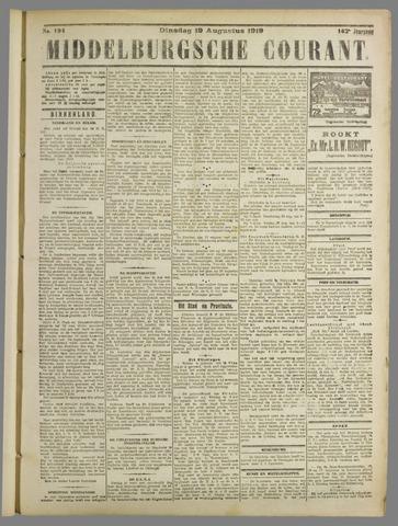 Middelburgsche Courant 1919-08-19