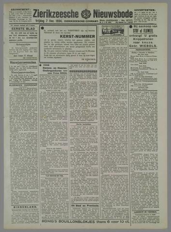 Zierikzeesche Nieuwsbode 1934-12-07