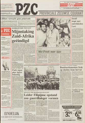 Provinciale Zeeuwse Courant 1987-08-31