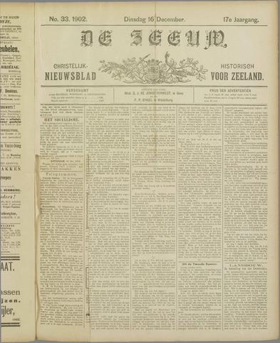 De Zeeuw. Christelijk-historisch nieuwsblad voor Zeeland 1902-12-16