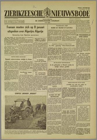 Zierikzeesche Nieuwsbode 1960-12-09