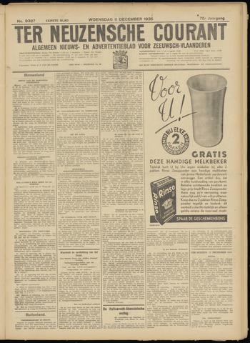 Ter Neuzensche Courant. Algemeen Nieuws- en Advertentieblad voor Zeeuwsch-Vlaanderen / Neuzensche Courant ... (idem) / (Algemeen) nieuws en advertentieblad voor Zeeuwsch-Vlaanderen 1935-12-11