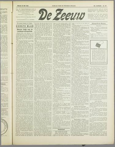 De Zeeuw. Christelijk-historisch nieuwsblad voor Zeeland 1934-05-18