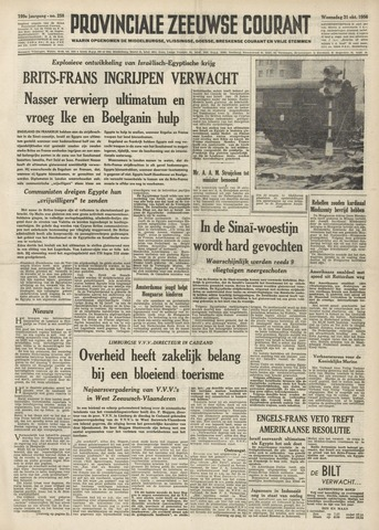 Provinciale Zeeuwse Courant 1956-10-31