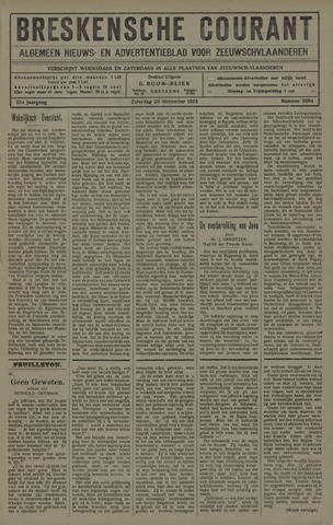 Breskensche Courant 1925-11-28