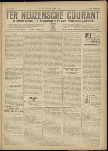 Ter Neuzensche Courant. Algemeen Nieuws- en Advertentieblad voor Zeeuwsch-Vlaanderen / Neuzensche Courant ... (idem) / (Algemeen) nieuws en advertentieblad voor Zeeuwsch-Vlaanderen 1931-07-08