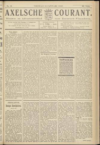 Axelsche Courant 1927-01-14