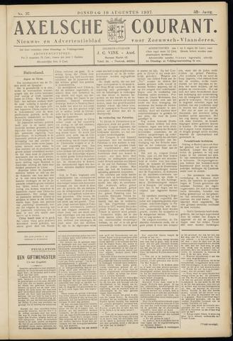 Axelsche Courant 1937-08-10