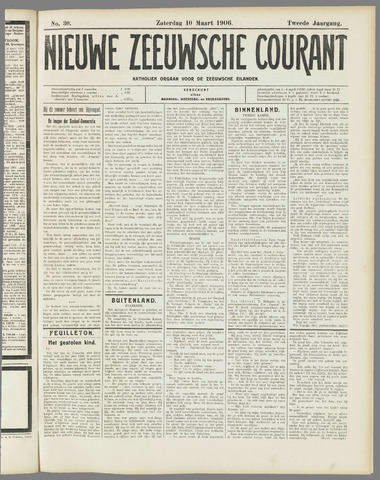 Nieuwe Zeeuwsche Courant 1906-03-10
