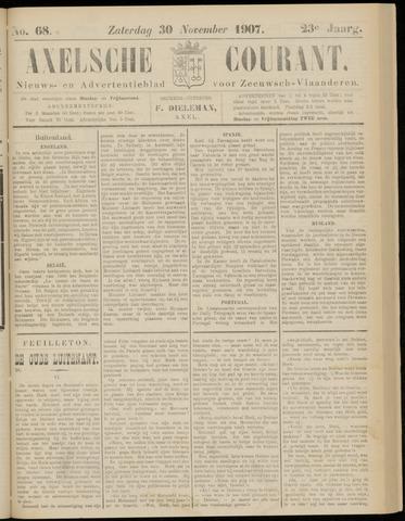 Axelsche Courant 1907-11-30