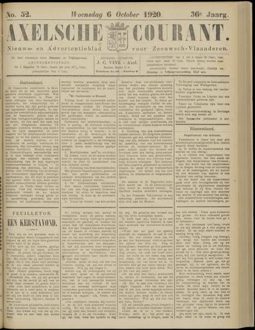 Axelsche Courant 1920-10-06