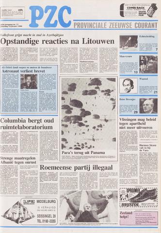 Provinciale Zeeuwse Courant 1990-01-13