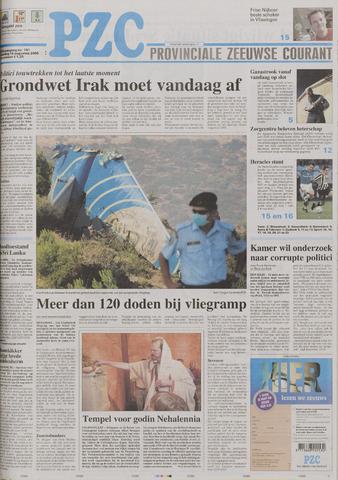 Provinciale Zeeuwse Courant 2005-08-15