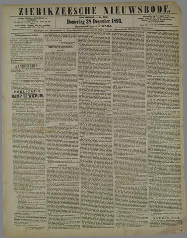 Zierikzeesche Nieuwsbode 1893-12-28