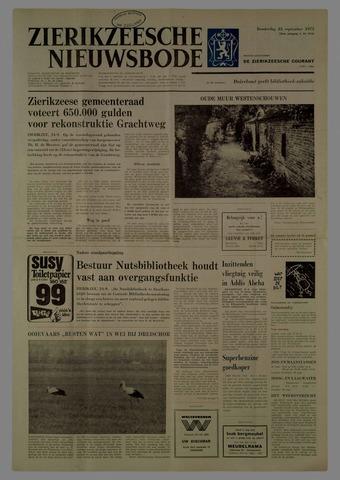 Zierikzeesche Nieuwsbode 1975-09-25