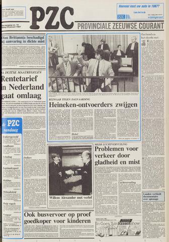 Provinciale Zeeuwse Courant 1987-01-23