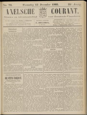 Axelsche Courant 1905-12-13