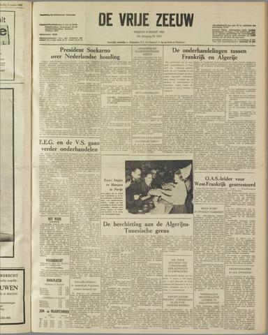 de Vrije Zeeuw 1962-03-09