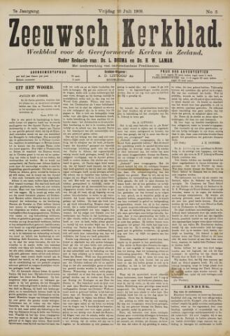 Zeeuwsche kerkbode, weekblad gewijd aan de belangen der gereformeerde kerken/ Zeeuwsch kerkblad 1909-07-23