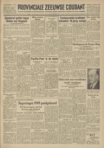 Provinciale Zeeuwse Courant 1949-03-15