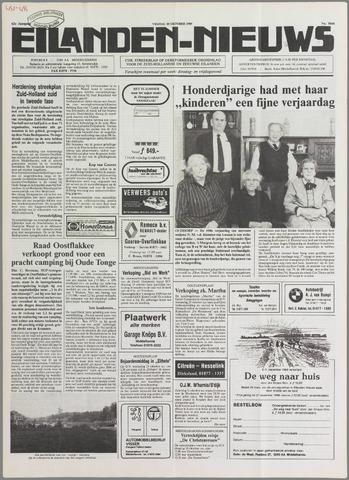 Eilanden-nieuws. Christelijk streekblad op gereformeerde grondslag 1989-10-20