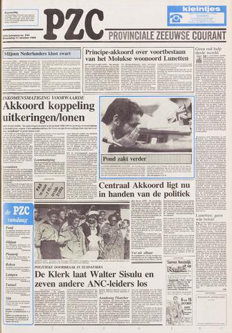 Provinciale Zeeuwse Courant 1989-10-11