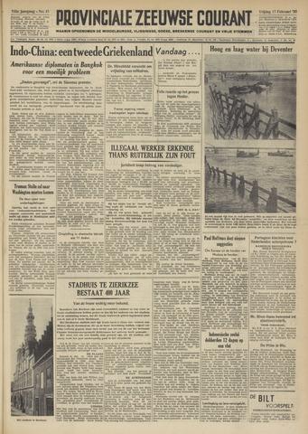 Provinciale Zeeuwse Courant 1950-02-17