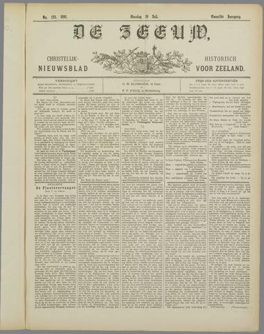 De Zeeuw. Christelijk-historisch nieuwsblad voor Zeeland 1898-07-19