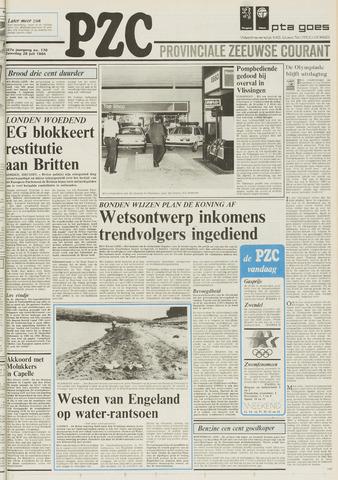 Provinciale Zeeuwse Courant 1984-07-28