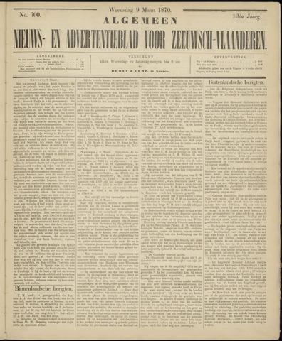 Ter Neuzensche Courant. Algemeen Nieuws- en Advertentieblad voor Zeeuwsch-Vlaanderen / Neuzensche Courant ... (idem) / (Algemeen) nieuws en advertentieblad voor Zeeuwsch-Vlaanderen 1870-03-09