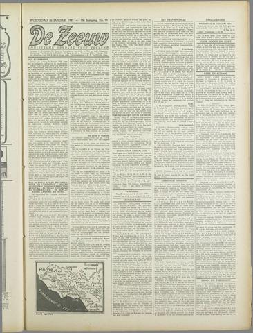 De Zeeuw. Christelijk-historisch nieuwsblad voor Zeeland 1944-01-26